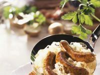 Sausages and Sauerkraut recipe