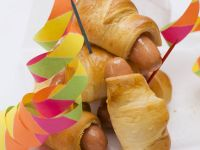 Sausages in Puff Pastry recipe