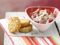 Sauteed Chicken, Shallots and Cherry Tomatoes recipe
