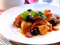 Sautéed Chicken with Cherries recipe