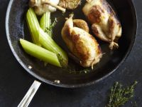 Sautéed Chicken with Garlic and Herbs recipe