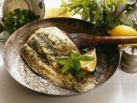 Sautéed Flounder with Fresh Herbs recipe