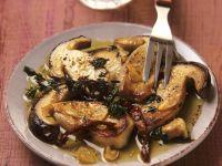 Sautéed Mushrooms with Herbs recipe