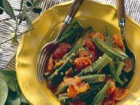 Sauteed Okra and Tomatoes recipe