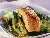 Sautéed Salmon and Vegetables recipe
