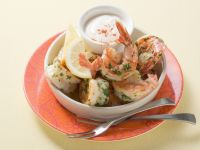 Sautéed Shrimp with Garlic Aioli recipe