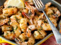 Sautéed Shrimp with Lemon and Garlic recipe