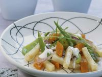 Sautéed Vegetables with Celery Root and Winter Squash recipe
