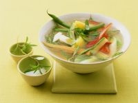 Savory and Mixed Veg Broth recipe
