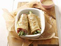 Savory Asparagus Crepes recipe