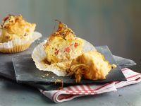 Savory Bacon and Sauerkraut Muffins recipe