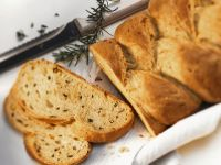 Savory Braided Herb Bread recipe