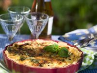 Egg and Chicken Quiche recipe