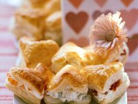 Savory Filled Puff Pastry recipe