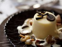 Truffled Celeriac Jelly with Wild Mushroom Cream recipe
