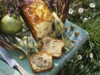 Savory Ham, Cheese and Olive Bread recipe