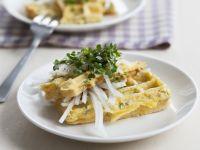 Savory Herbed Waffles recipe