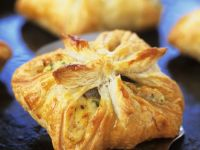 Fish and Egg Square Pasties recipe
