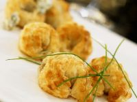 Savory Puff Pastry Crescents recipe