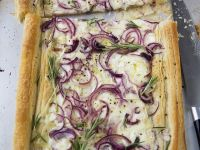 Savory Puff Pastry with Cheese recipe