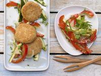 Savory Semolina Fritters recipe