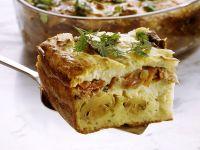 Savory Semolina Mushroom Casserole recipe