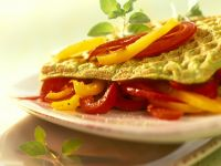 Savory Waffles with Vegetables recipe
