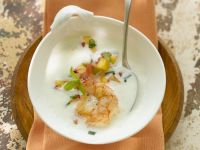 Cool Yoghurt Dish with Shrimp recipe