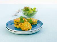 Savory Zucchini and Cheese Pancakes recipe