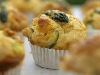 Savoury Bacon and Asparagus Muffins recipe
