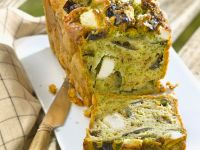 Savoury Cake with Feta and Eggplant