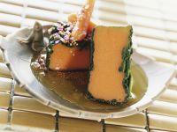 Savoury Carrot and Semolina Puddings recipe