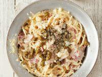 Savoury Creamy Spaghetti Bowl recipe