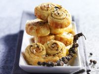 Savoury Peppercorn Pastries recipe