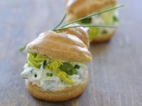 Savoury Profiteroles with Herb Quark Filling recipe