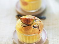 Savoury Risen Puddings with Fruit recipe