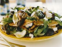 Savoury Soft Cheese and Mushroom Crepes recipe