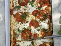 Savoury Soft Cheese and Tomato Tartlet recipe