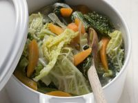 Savoy Cabbage and Carrot Stew recipe