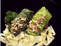 Savoy Cabbage Rolls with Pasta recipe