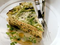 Savoy Ground Meat and Cabbage Pie recipe