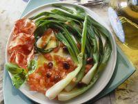 Scallion and Tomato Salad recipe