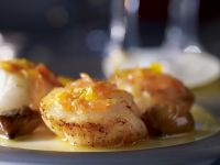 Scallops with Citrus Fruits recipe