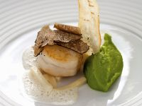 Scallops with Parsnips recipe