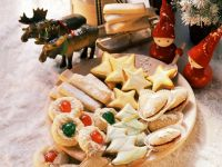 Scandinavian Cookie Platter recipe
