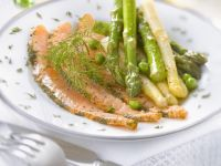 Scandinavian Cured Fish with Vegetables recipe