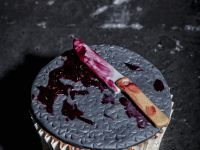 Bloody Knife Individual Cakes recipe