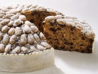 Traditional Almond and Dried Fruit Cake recipe
