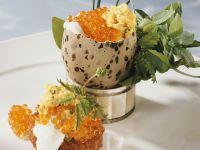 Scrambled Eggs and Caviar recipe