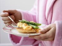 Scrambled Eggs with Asparagus